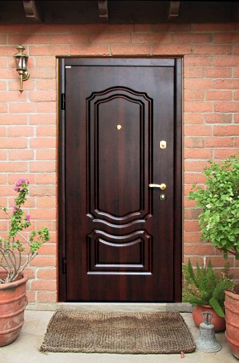 металлические наружные двери для дачи