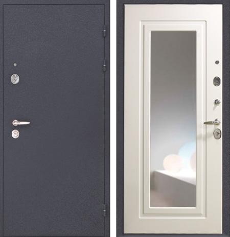 зеркальные двери входные