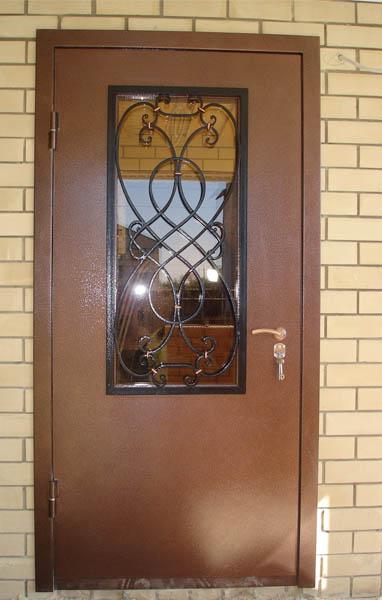 двер входные со стеклом