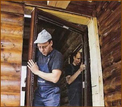 Установка железной двери в доме своими руками