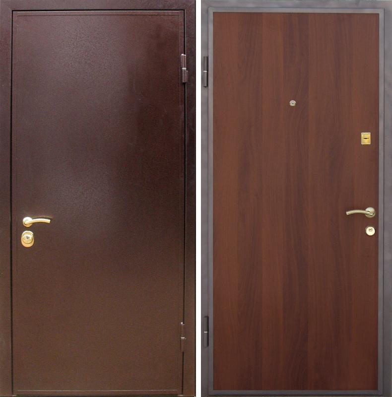 входная металлическая дверь с порошковым напылением ламинат от производителя