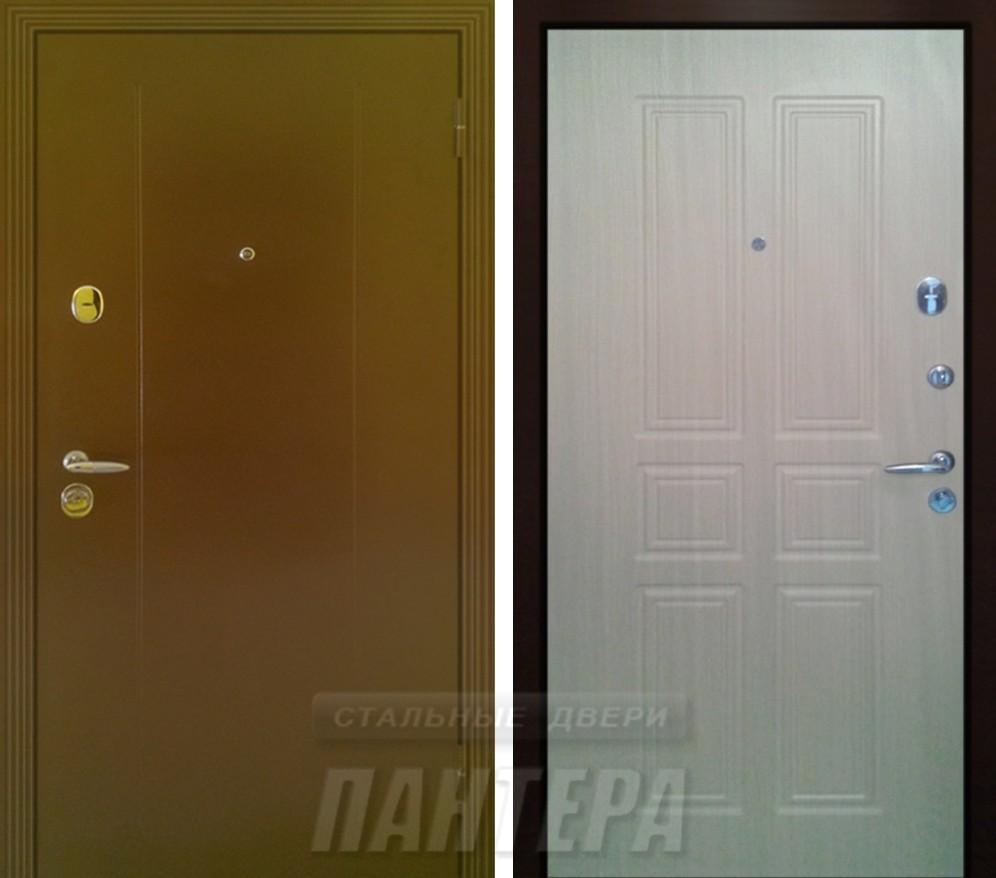 входная дверь филенчатая с минеральной ватой
