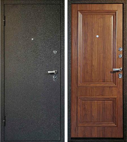 входные металлические двери в квартиру с наружным порошковым напылением